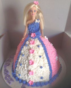 Finally At Number 5 Is The Firm Favorite Barbie Cakes Have Been Popular Since 1950s When Was First Sold Little Girls All Over