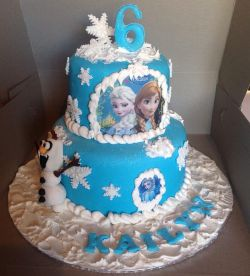 Frozen Theme Cake Funtacee Parties